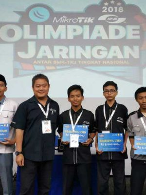 Penyisihan Olimpiade Jaringan Mikrotik Regional Jabodetabek 2018