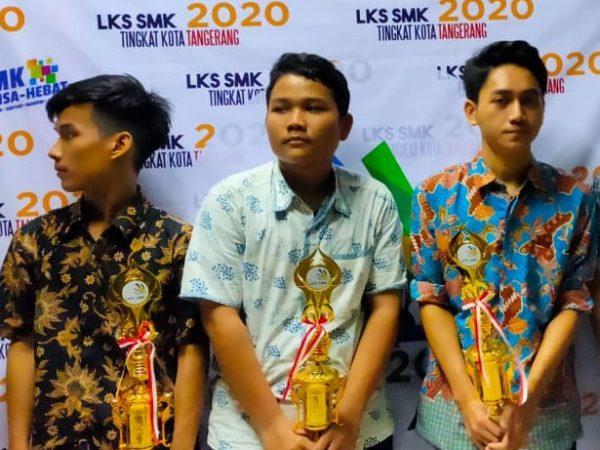 Prestasi SMK Pancakarya pada LKS Tingkat Kota Tangerang 2020
