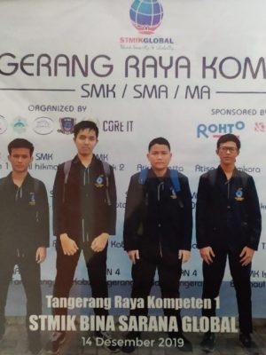 Juara 1 Networking - Tangerang Raya Kompeten 1 tahun 2020